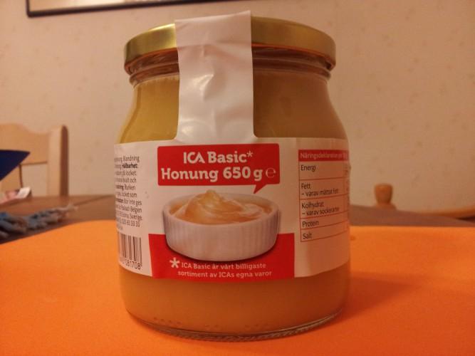 Ica Basic honung