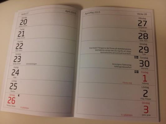 planeringskalender