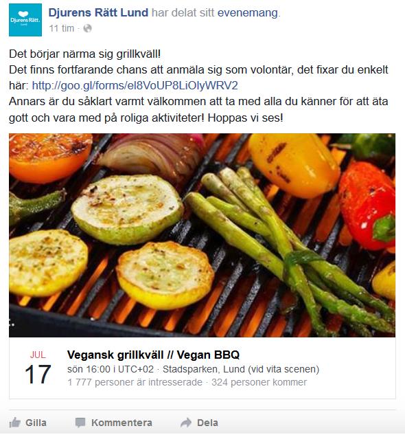 vegansk grill