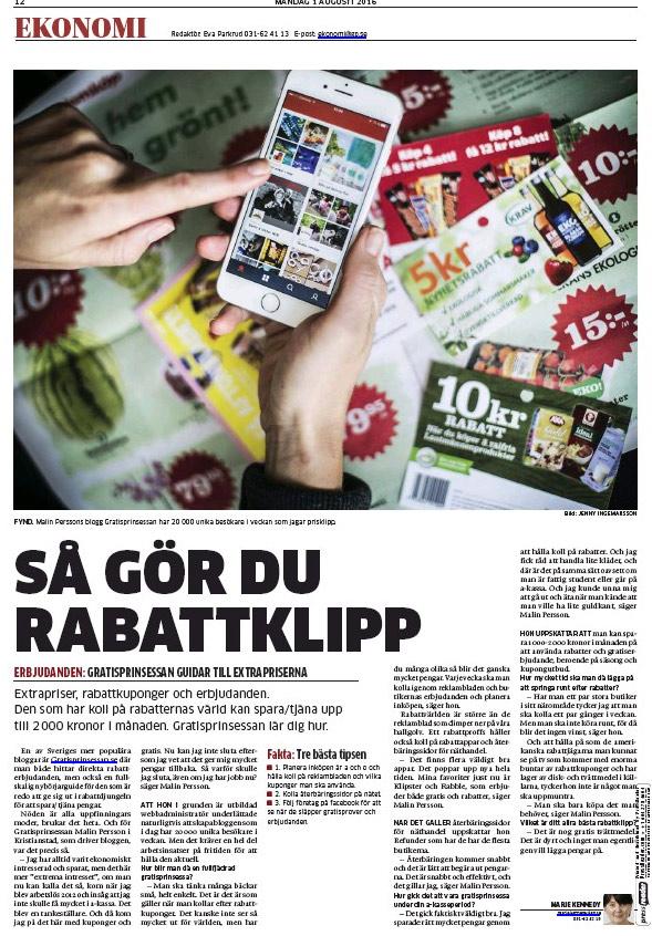 gratisprinsessan_göteborgsposten