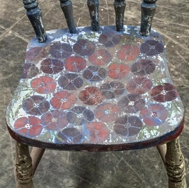 Ge en gammal stol en massa kärlek <3