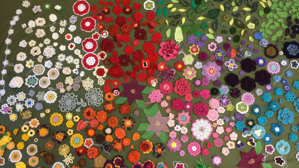 sma-blommor