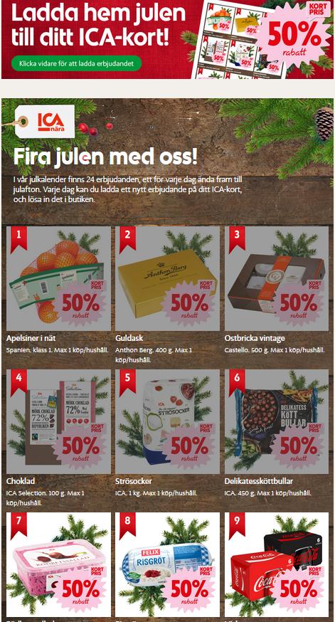 ica-julkalender