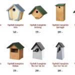 Olika hem för olika fåglar