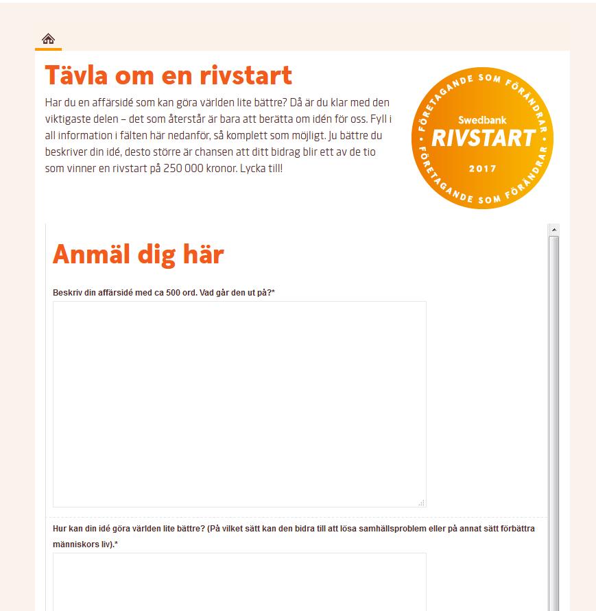 rivstart swedbank