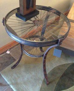 återbruk bord cykel