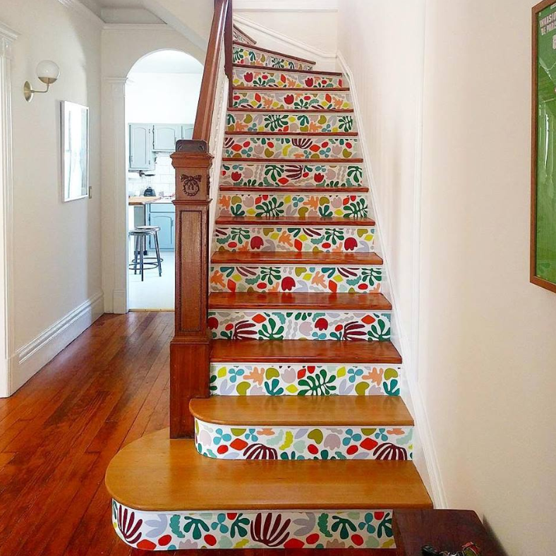 tapetsera trappa
