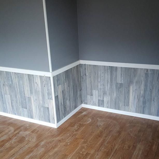 laminat vägg