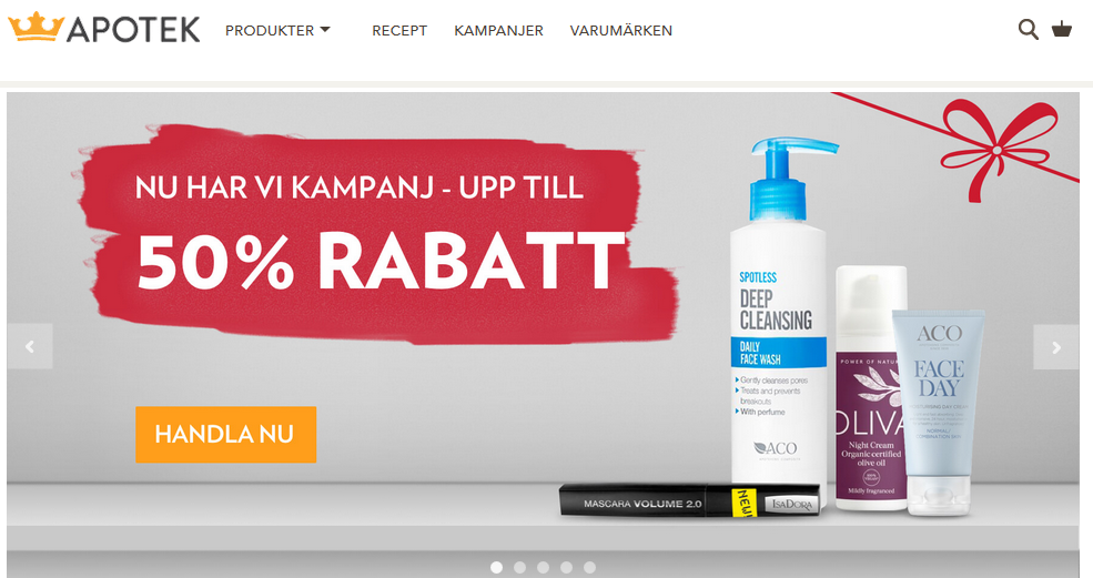 10% rabatt hos Kronans Apotek