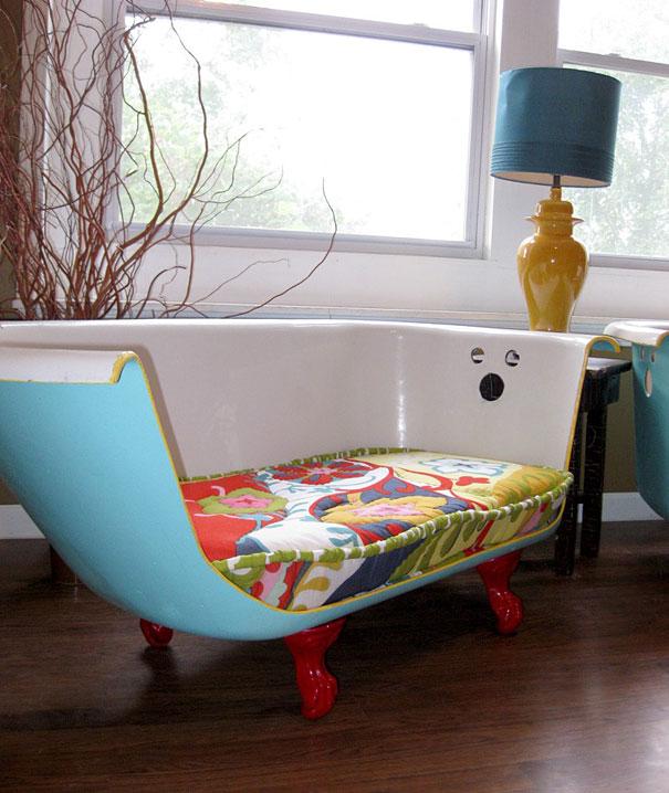 soffa av badkar