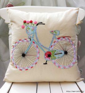 Kudde med cykel