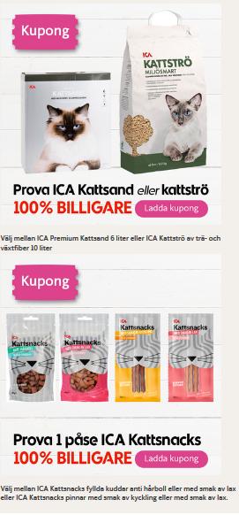 gratis kattfoder