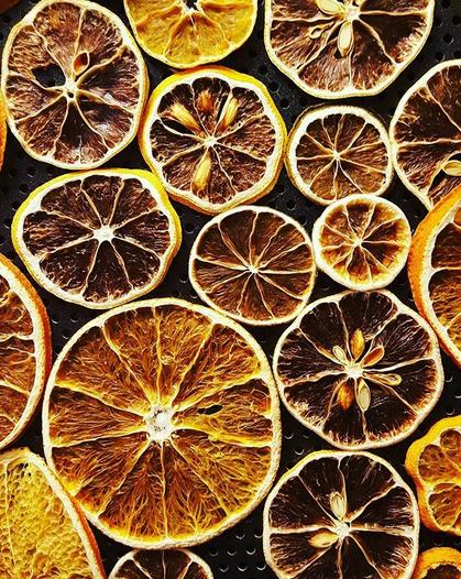 torkad citrusfrukt