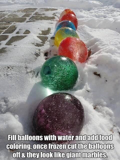 Roliga påskägg att göra för er som kommer att ha snö och is i Påsk!
