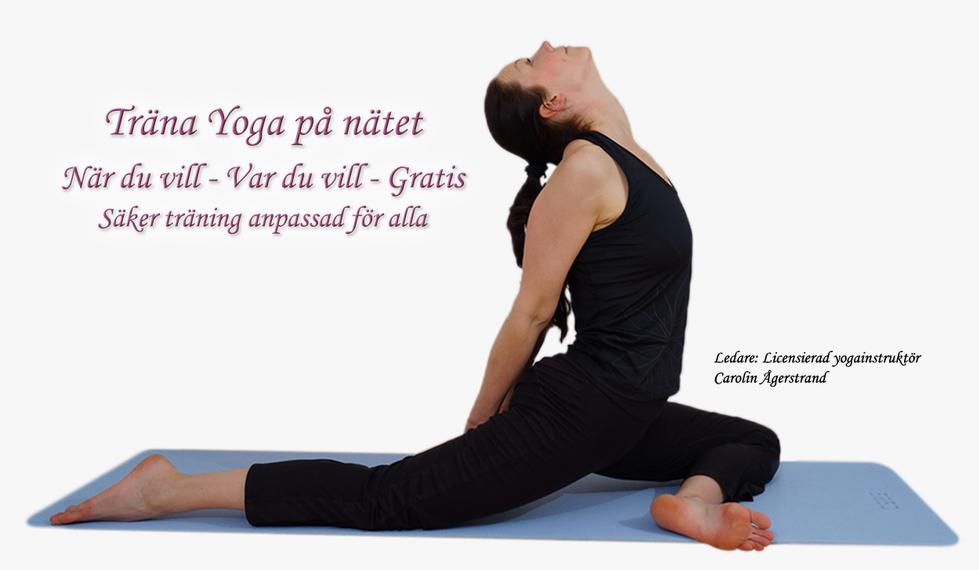 Gratis Yogapass på nätet!