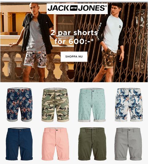 Erbjudande på Jack & Jones