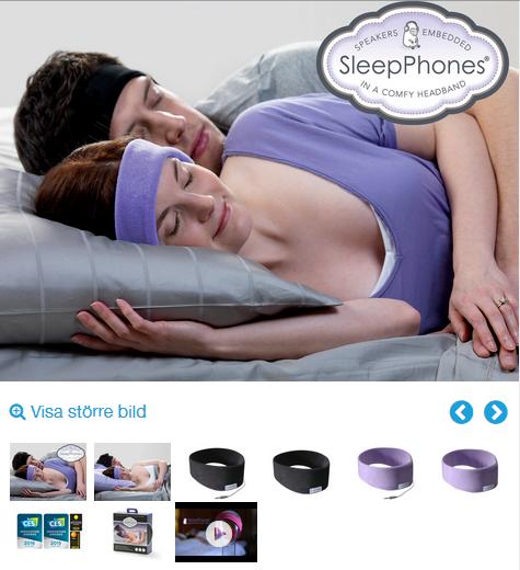 Stäng ute ljud och sov bättre med SleepPhones