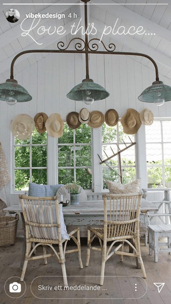 Har du många hattar kan de bli en fräck fönsterdekoration