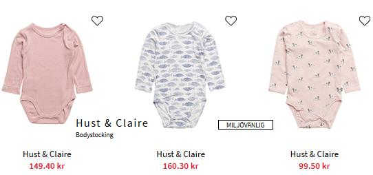 miljövänliga barnkläder