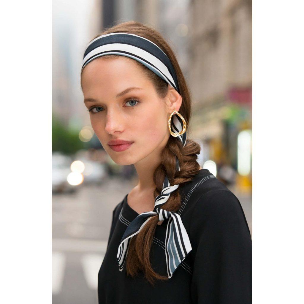 Praktiskt hårband