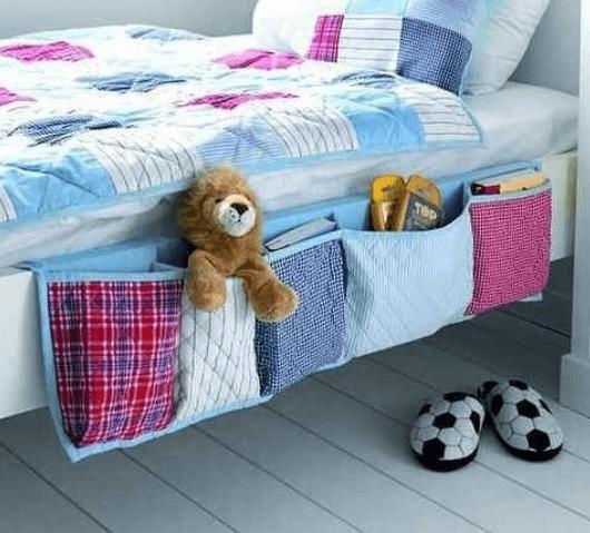 Förvaring vid sängen