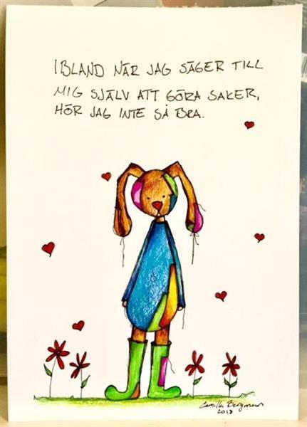 Konstnär Camilla Bergman