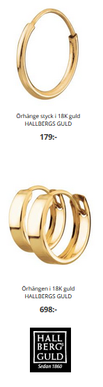 Välj bekväma guldörhängen som du aldrig behöver ta ur