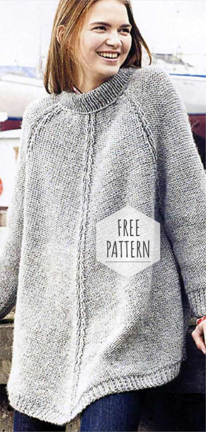 gratis mönster tröja