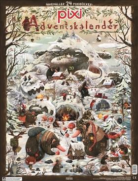Pixi kalender jul