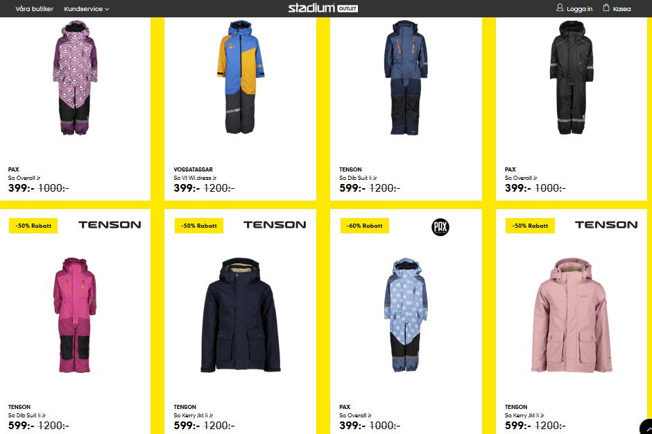 billiga overaller prisvärda