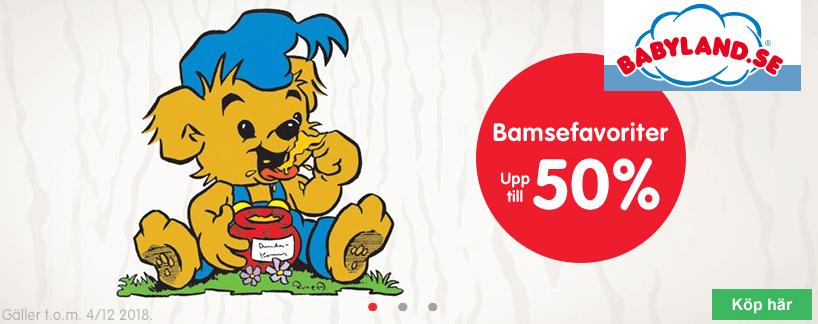 Kampanj på Bamsefavoriter