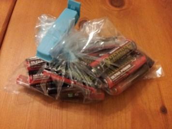 Förvara batterier kallt så håller de längre!