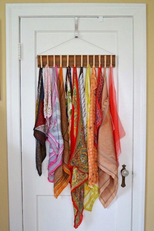 Använda klädnypor istället för krokar