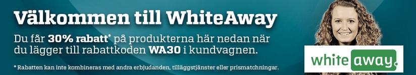 30 % rabatt på vitvaror