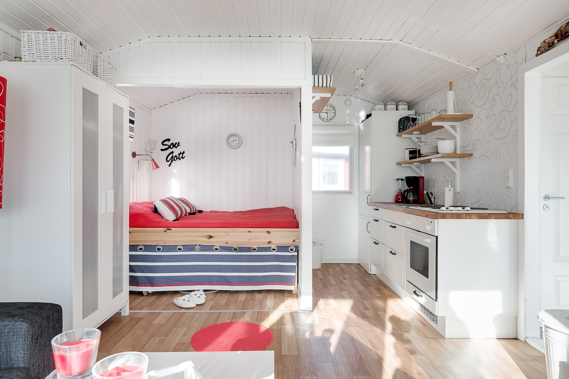Inredning med compact living