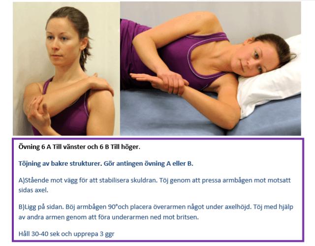 Träna och stretcha bort frozen shoulder