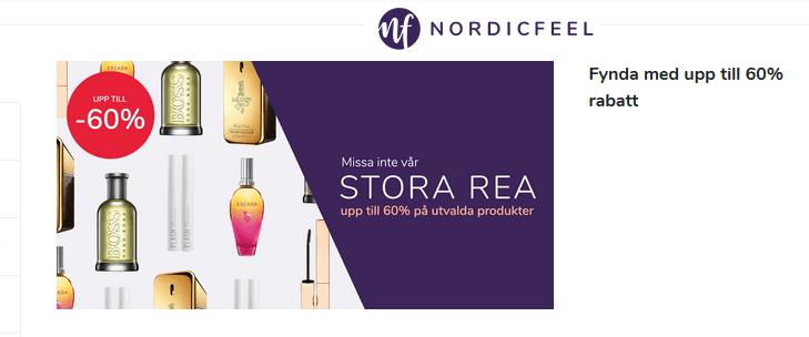 Upp till 60% rabatt på NordicFeel