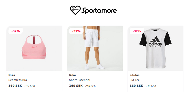 Nike & adidas -25% kampanj! Sista dagen idag!