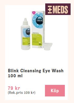 Få bort skräp från ögat fort
