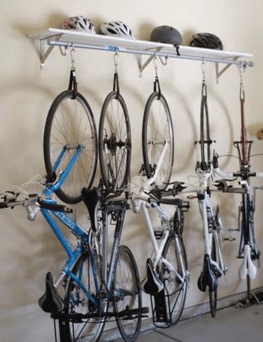 Förvaring av cyklar