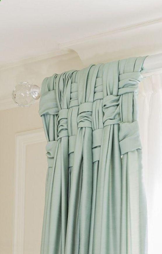 Snygg och originell gardinuppsättning