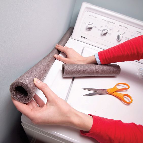 stötdämpare till tvättmaskin