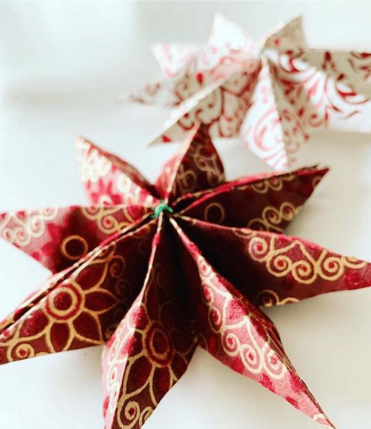 Göra julstjärnor