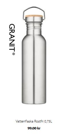 Rostfri vattenflaska