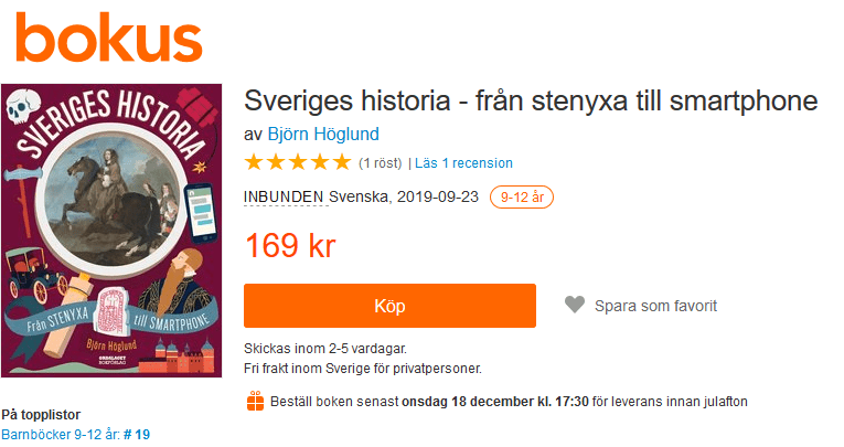 Sveriges historia för barn