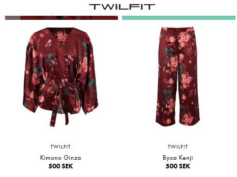 Pyjamas / festkläder från Twilfit
