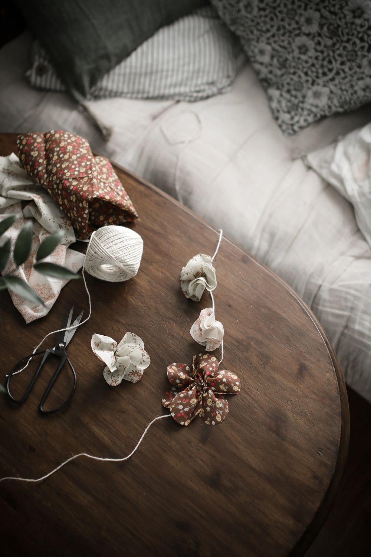 Göra blomgirlanger