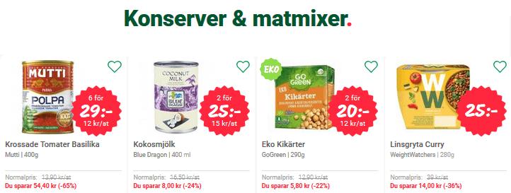 Ny rabattkod 75 kr MatSmart