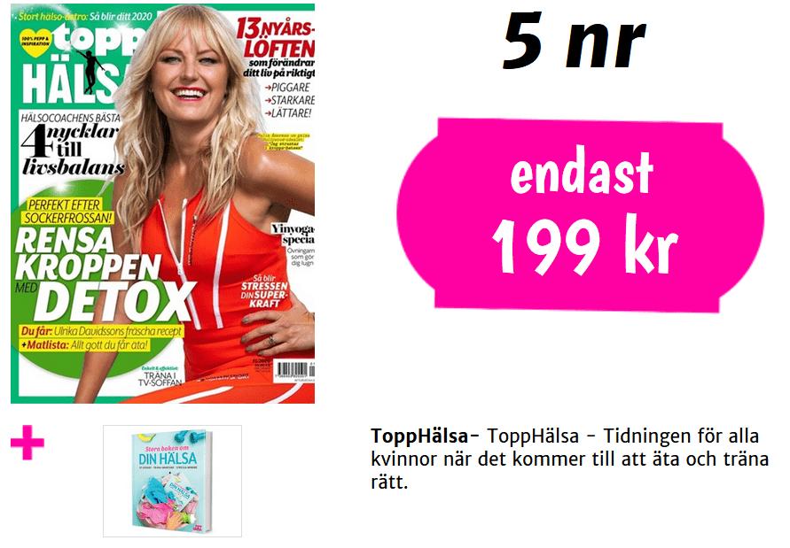 Topphälsa + bok