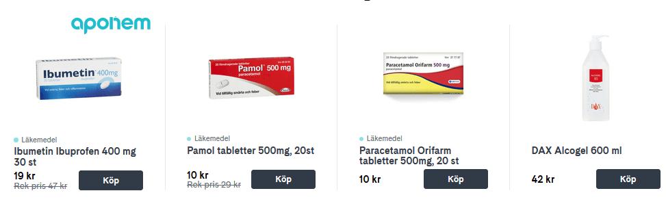 apotek billigare på nätet